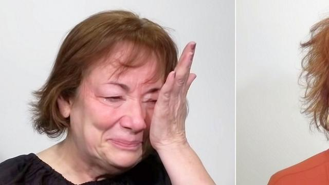 Divorced after 44 years of marriage, woman gets stunning makeover