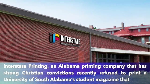 Christian company faced criticism after refusing to print University of South Alabama magazine that