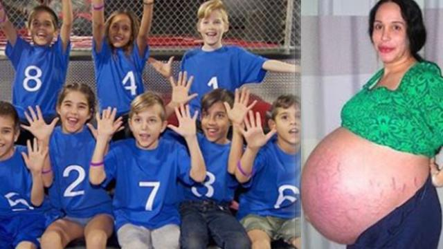 Single mom who delivered world's longest-surviving octuplets celebrates their 10th birthday