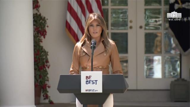 The First Lady who is so devoted  to our country and to our children