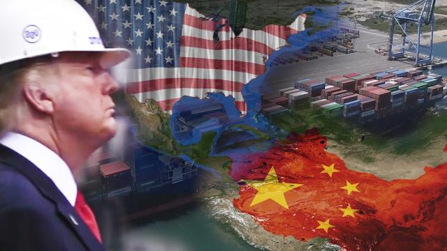 Trump Takes On China in Trade and Human Rights