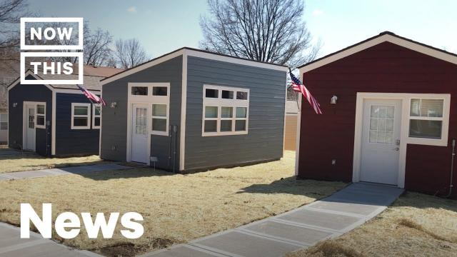 A Tiny Home Village Was Built for Homeless Veterans in Kansas City