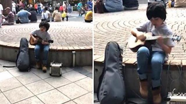 Incredibly talented boy plays 'Classical Gas' on ukulele and stuns listeners