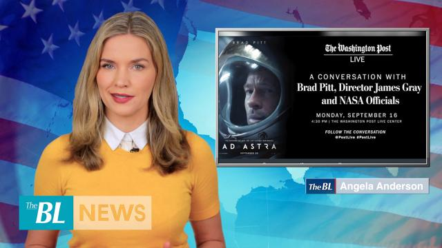 Brad Pitt video chats with astronaut on ISS