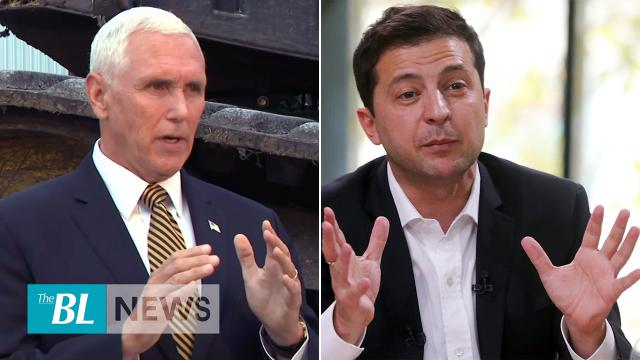 Pence and Zelenskiy defend President Trump – Trump will be exonerated