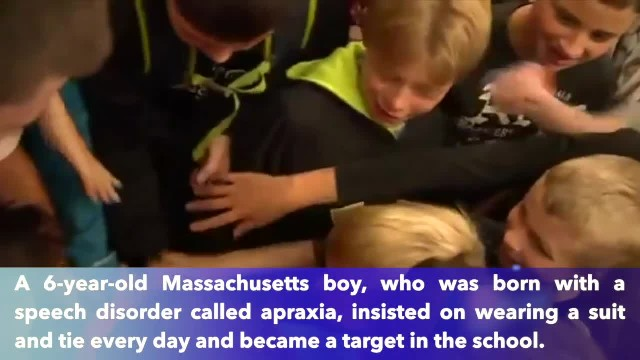 Massachusetts Peewee football team observes 'Danny Appreciation Day' to help bullied boy