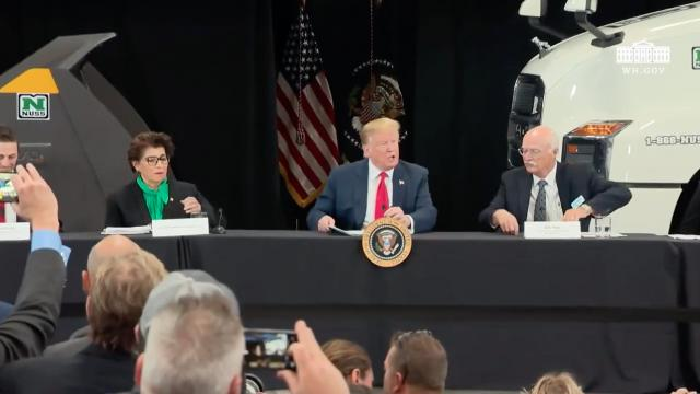 President Trump Participates in a Roundtable Discussion on the Economy and Tax Reform
