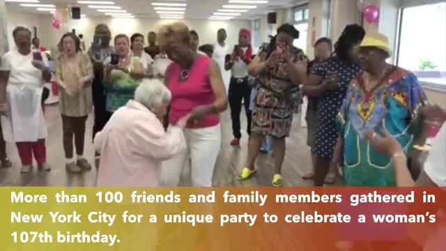 Woman turns 107 and shares her secret to longevity