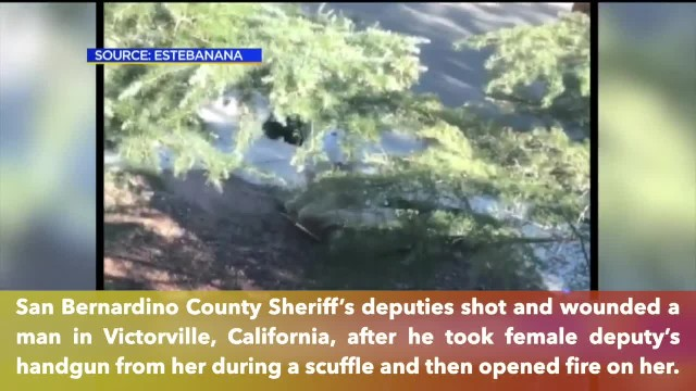 California man beats female deputy, steals her handgun, then opens fire on her
