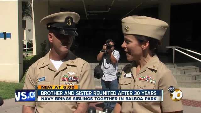 Long Lost Siblings Reunite After 37 Years, Discover They're Both Naval Officers