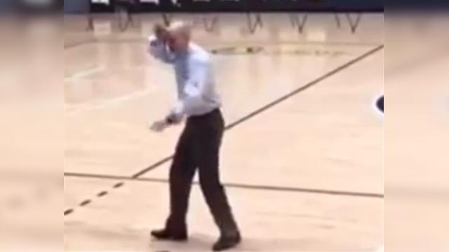 Principal takes center stage as school underestimates his skill until the music starts