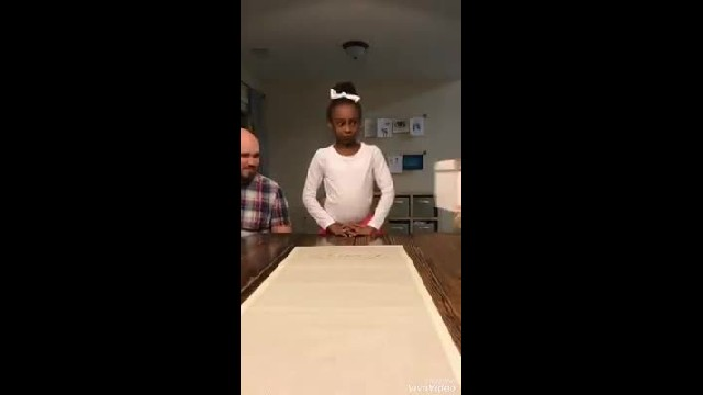 Little girl realises she's finally going to be adopted, the video of the moment has millions bawling