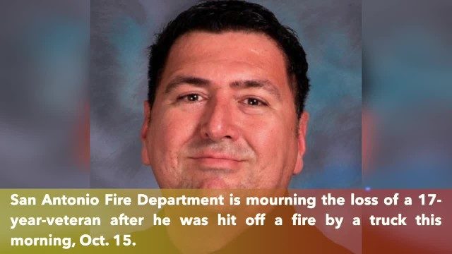 SAFD stunned by the death of a 17-year-veteran who was struck by vehicle