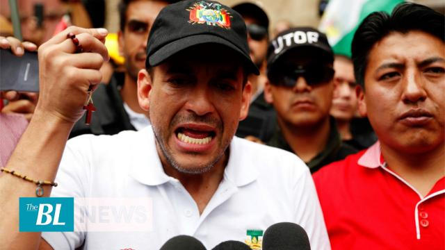 Camacho calls for elections in Bolivia for Jan. 19