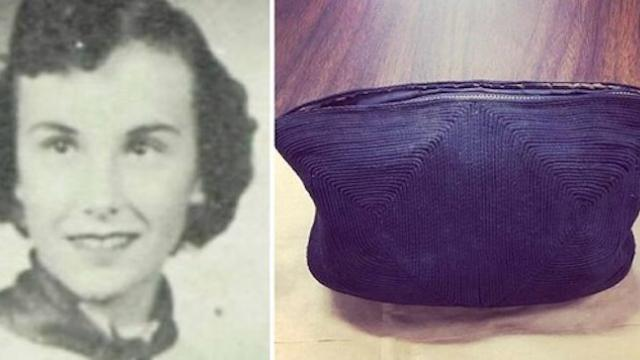 Workers in high school find purse student lost in 1954 revealing contents inside they can't ignore