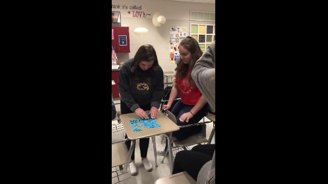Nonverbal teen asks classmate to prom using puzzle in heartwarming video