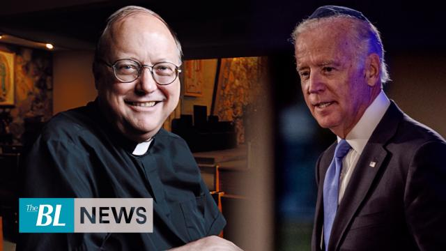 A priest denied communion to Democrat Joe Biden for his defense of abortion