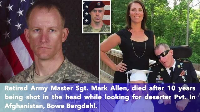Master Sgt. Mark Allen dies 10 years after being shot while looking for Bowe Bergdahl