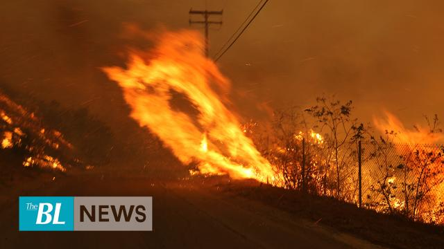 New Southern Calif. wildfires force evacuations