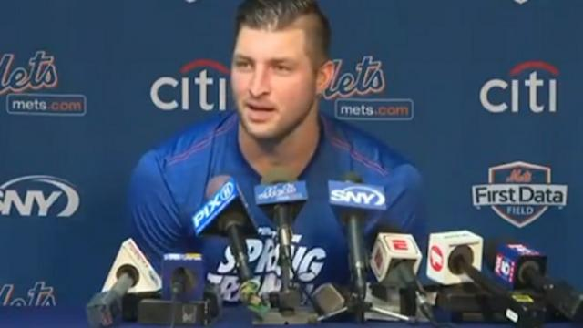 Tim Tebow's honest response to haters is inspiring young people around world.