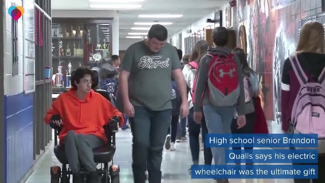 Teen Saves Up To Buy Best Friend New Wheelchair