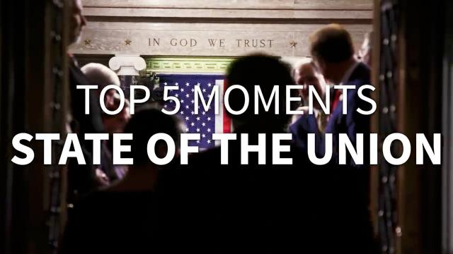Top 5 moments - 2020 State of the union