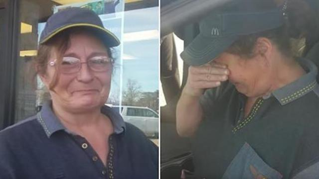 Watch when customer gifts McDonald's employee a car in heartwarming video