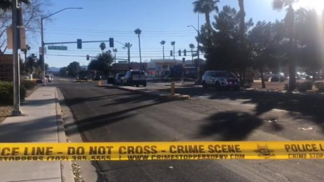 Police- Woman fatally shoots, kills attempted burglar in central Las Vegas