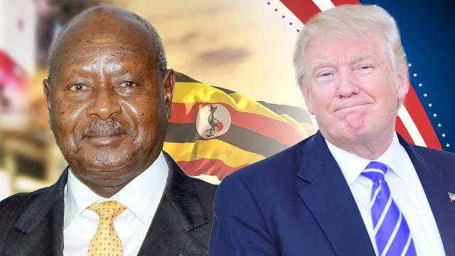 What Uganda's president say about President Trump