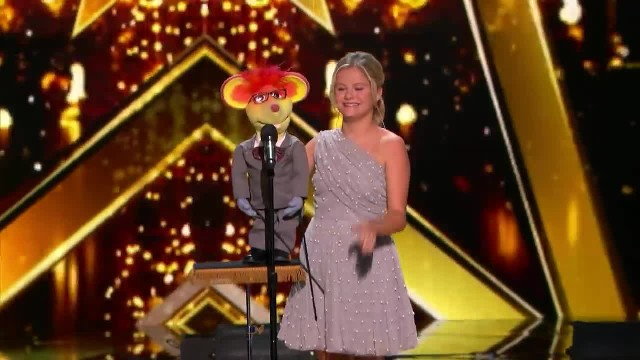 Darci Lynn nervously returns to stage but in seconds unleashes song that has everyone soaring from t