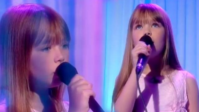 Blue-eyed angel delivers Whitney Houston classic with voice that steals everyone's breath