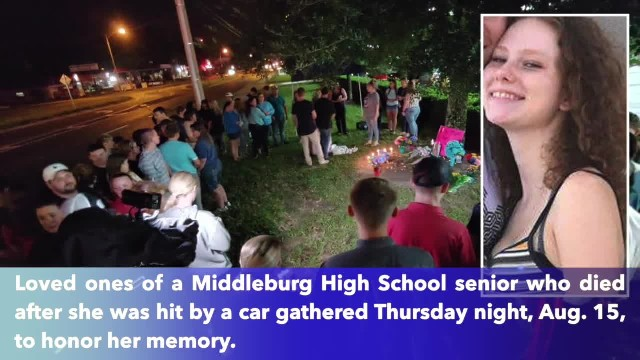 Community mourns Middleburg High senior hit, killed by passing car