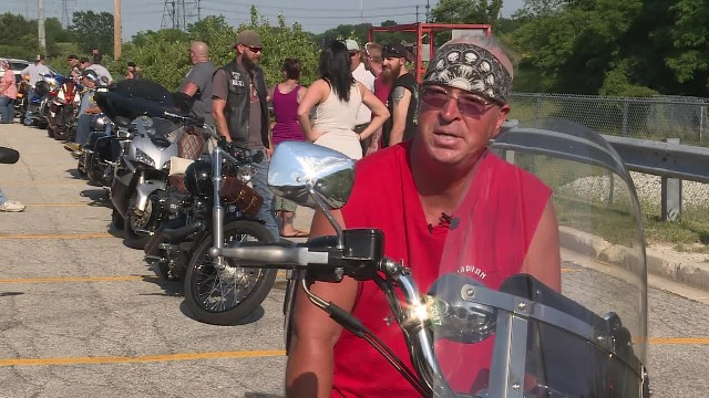 Veteran Posts L a s t Wish On Facebook. The Next Day, Hundreds Of Bikers Show Up To Grant Him It