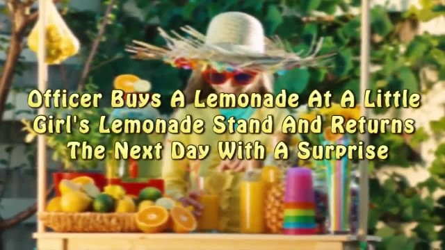 Office Buys Lemonade From Girl's Stand But Shows Up The Next Day And It's Not To Buy More