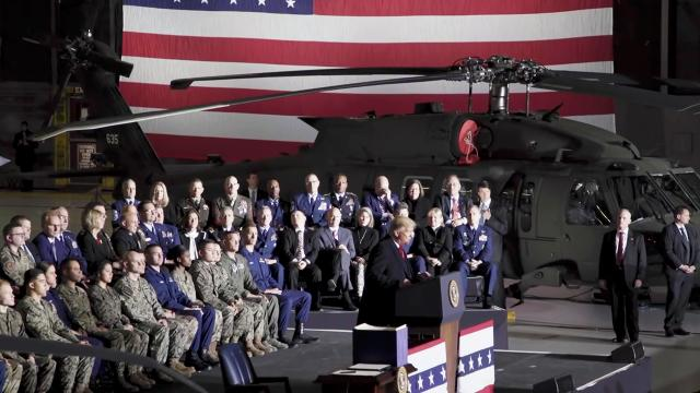President Trump Creates the Space Force and Funds the Military