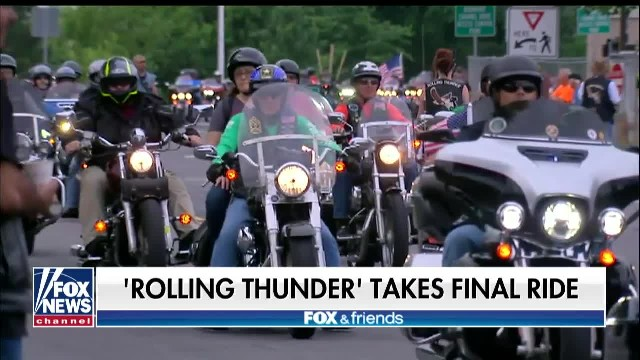 'Rolling Thunder' takes final ride