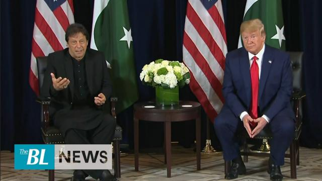 President Trump meets with Pakistani Prime Minister Imran Khan – Trump willing to mediate India Paki