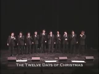 A Cappella choir lines up on stage in 1998, but people can't stop laughing at it today