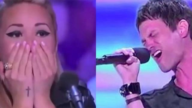 One contestant's rendition of 'Hallelujah' is so good that even