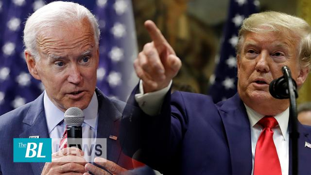 President Trump blasts bias news media for protecting Biden