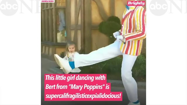WATCH: Cute 2-Year-Old Perform The Penguin Dance With 'Mary Poppins' Bert