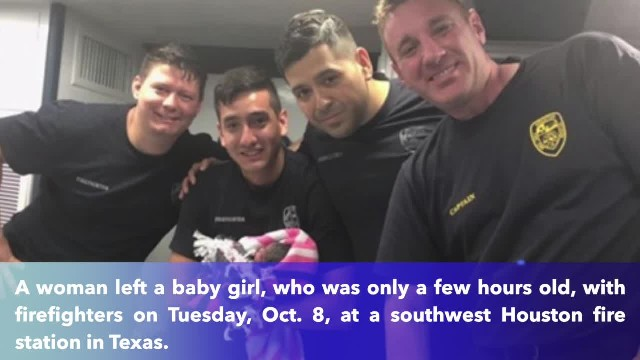 Hours-old baby girl dropped off at Houston fire station in Texas