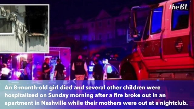 Baby dies and other children injured in house fire while mothers are out clubbing