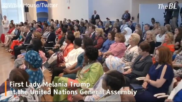 The message of First Lady at UN General Assembly