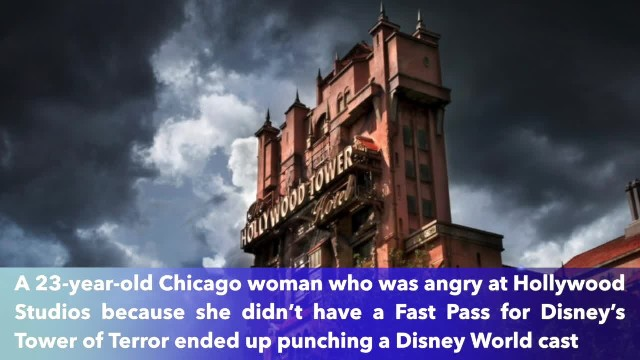 23-year-old woman banned for life for allegedly punching a Disney World cast member
