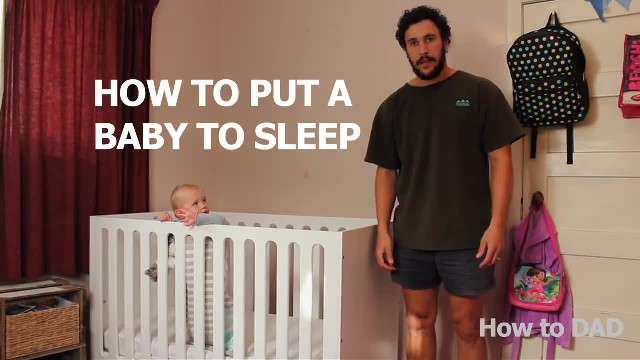 Funny viral video on how to put a baby to sleep