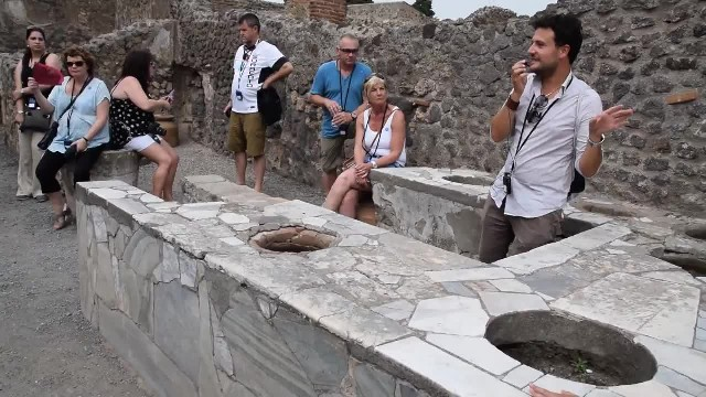 A 2,000-year-old snack bar found in Pompeii show even ancient Romans liked fast food
