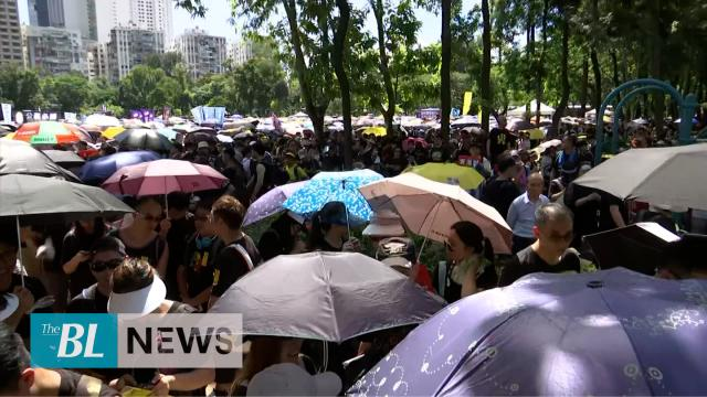 Thousands participate in Hong Kongs July 1st mass protest march