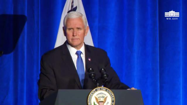 Vice President Pence attends the 68th annual national prayer breakfast