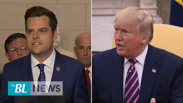 Trump and Republicans react to impeachment vote